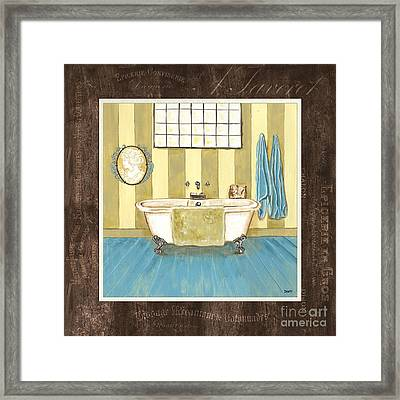 French Bath 2 Framed Print by Debbie DeWitt