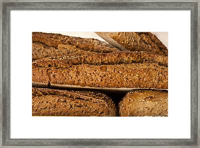 French Bread Framed Print by Georgia Fowler