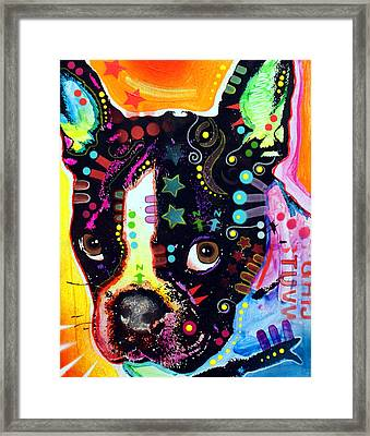 French Bulldog I Framed Print by Dean Russo