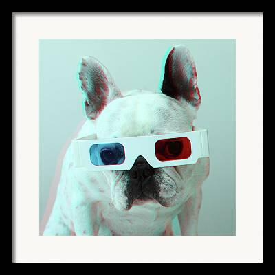 3-d Glasses Framed Prints