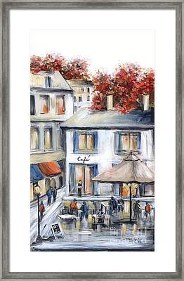 French Cafe Framed Print