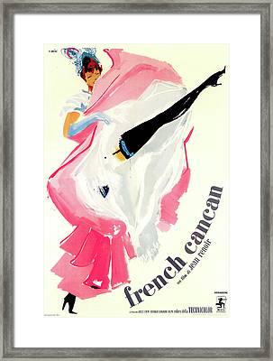 French Cancan Framed Print