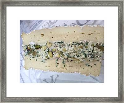 French Cheese Framed Print by Evan N