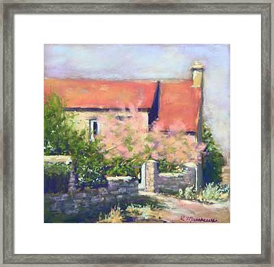 French Cottage Framed Print