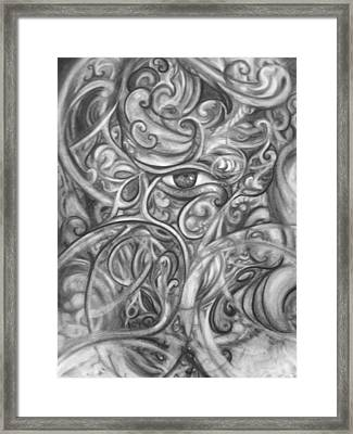 French Curves Framed Print by Adrienne Martino