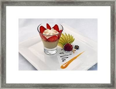 French Dessert Framed Print by Helmut Meyer zur Capellen