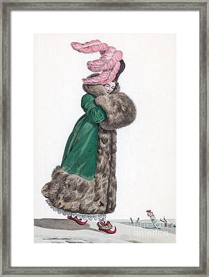 French Fashion, 1810 Framed Print by Science Source