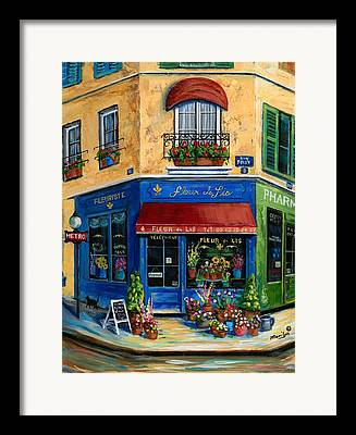 Shop Window Framed Prints