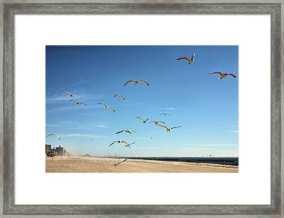 French Fries Framed Print by JC Findley