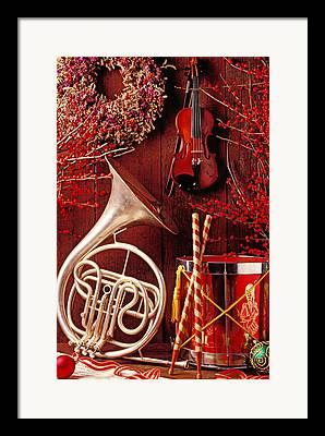 French Horn Framed Prints