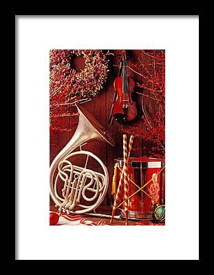 Horn Framed Prints
