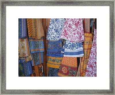 French Linens Framed Print by Jacqueline Manos