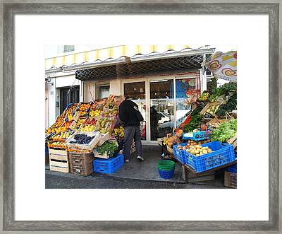 French Market Framed Print by Aline Kala