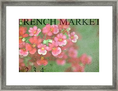 French Market Series I Framed Print by Rebecca Cozart