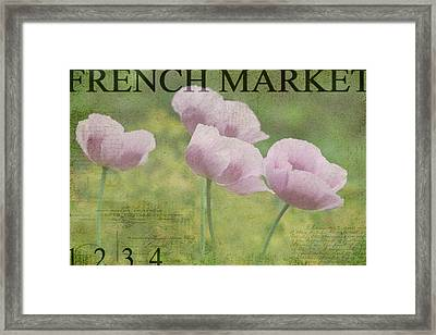 French Market Series P Framed Print by Rebecca Cozart
