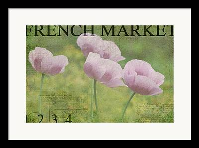 French Market Framed Prints