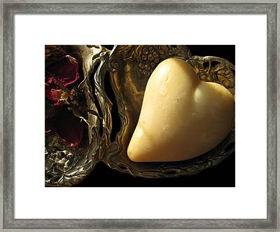 Framed Print featuring the photograph French Milled by Lindie Racz