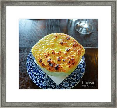 French Onion Soup Framed Print by Louise Heusinkveld