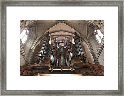 French Organ Framed Print