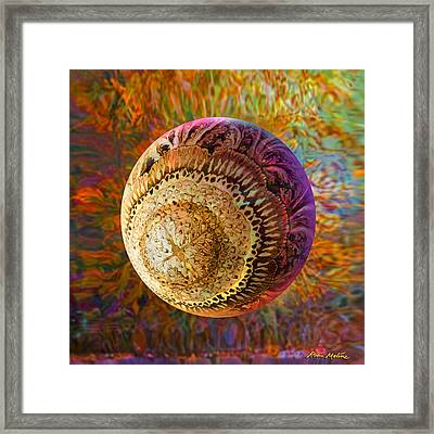 Framed Print featuring the painting French Ornamental  by Robin Moline