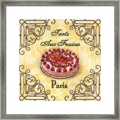 French Pastry 1 Framed Print