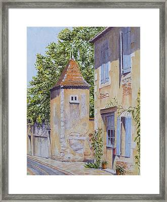 French Pigeonnier Framed Print by Frances Evans
