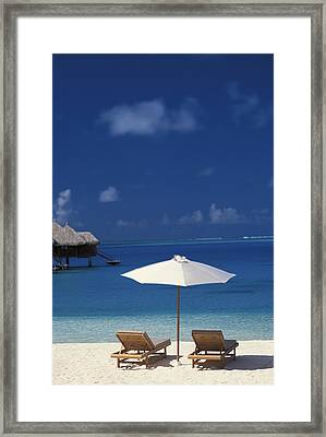 French Polynesia, Bora Bora Framed Print by Kyle Rothenborg - Printscapes