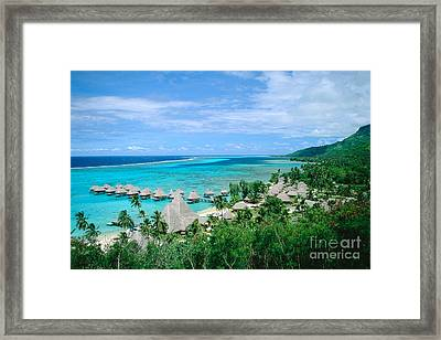 French Polynesia, Moorea Framed Print by Kyle Rothenborg - Printscapes