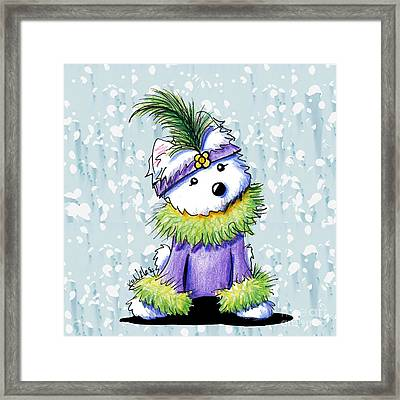 French Quarter Cutie Framed Print by Kim Niles