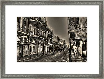 French Quarter Ride Framed Print