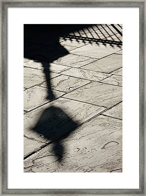 French Quarter Shadow Framed Print