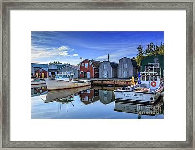 French Riiver Prince Edward Island Framed Print by Edward Fielding