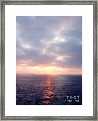 French Riviera Sunset Framed Print by Europe Travel Gallery