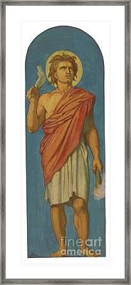 French Samson Framed Print