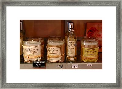 Framed Print featuring the photograph French Scent by Richard Patmore