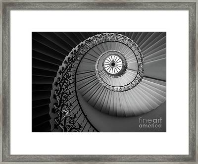 French Spiral Staircase 1 Framed Print
