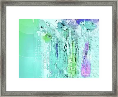 Framed Print featuring the digital art French Still Life - 14b by Variance Collections