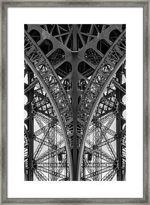 French Symmetry Framed Print