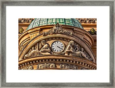French Time Framed Print by Christopher Holmes