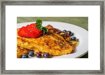 Framed Print featuring the photograph French Toast by Ryan Smith