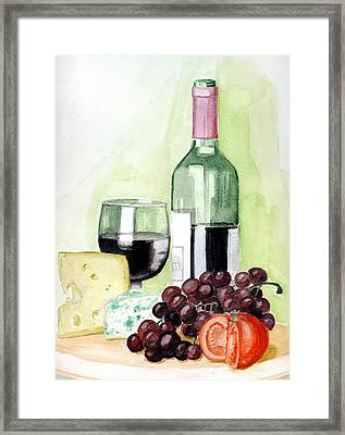 French Tradition Framed Print by Alban Dizdari
