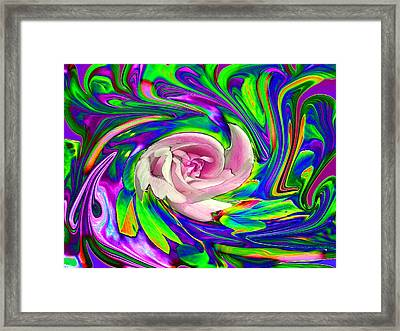 French Wild Rose Framed Print by Rose Guay
