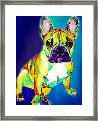 Frenchie - Tugboat Framed Print