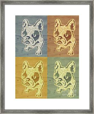 Frenchies Framed Print