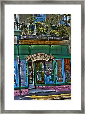 Frenchman Deli Framed Print