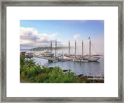 Frenchman's Bay Bar Harbor Framed Print