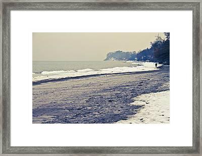 Frenchmen's Bay Framed Print by Ken Yan