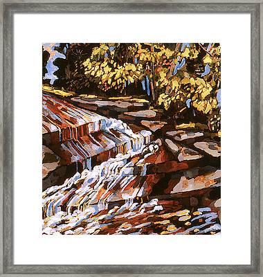 Frenchtown Creek Framed Print