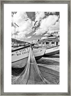 Frenchtown Fishing Boats 1 Framed Print