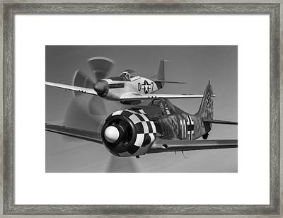 Frenemies II Framed Print